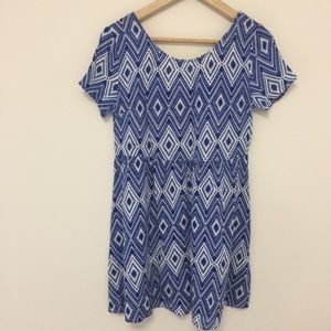 H&M laced back summer dress